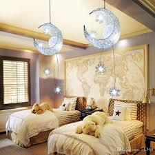 großhandel moon kronleuchter moderne deckenleuchten kinder kinder schlafzimmer hängele led pendelleuchte weihnachtsdekorationen für home