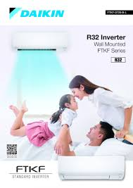 daikin r32 inverter wall mounted ftkf series air conditioner
