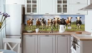 tiermotive verschönern deine küchenrückwand wall2art