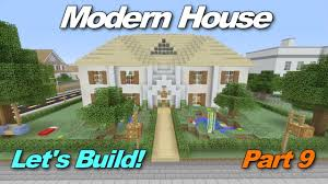 Minecraft Xbox 360 Living Room Designs by Minecraft Xbox 360 Modern House Let U0027s Build Part 9 Finale