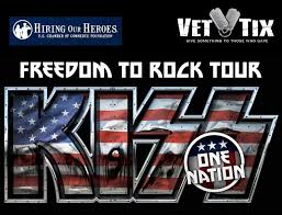 KISS To Honor Hometown Military Heroes During 2016 Freedom Rock Tour