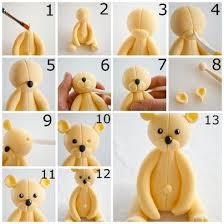 comment faire un ours en pâte à sucre recette illustrée simple