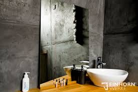 exklusive wandoberflächen fugenloses bad betonoptik