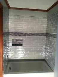 tiles bathroom shower accent tile ideas shower tile accent