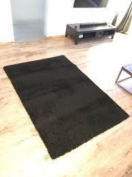 teppich ikea hen kurzflor schwarz 133x195 vorleger