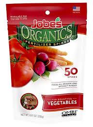 Homemade Fertilizer For Pumpkins by Amazon Com Jobe U0027s Organics Vegetable U0026 Tomato Fertilizer Spikes