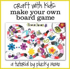 Plucky Momo Craft With Kids Homemade Board Game