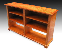 Maple Bookcase With Doors