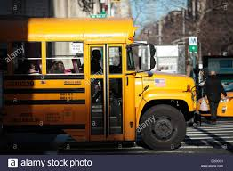 Truck Driving Schools Staten Island Ny School Bus New York Stock S ...