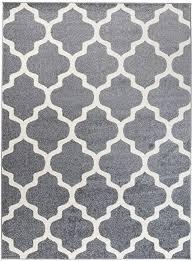we rugs carpeto orientalisches marokkanisches teppich flor modern designer muster wohnzimmer schlafzimmer esszimmer hell grau weiß 120