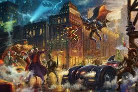 Thomas Halloween Adventures 2006 by D C Super Hero Fine Art The Thomas Kinkade Company