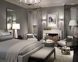 Grey Bedroom Home Design Brilliant