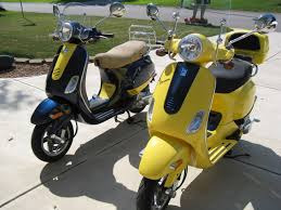 Modern Vespa LX Custom Colors