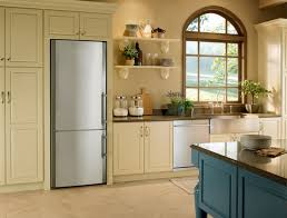 Samsung Cabinet Depth Refrigerator Dimensions by Samsung Counter Depth Refrigerator Kitchen Mediterranean With