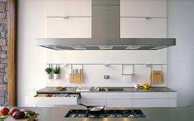 hotte de cuisine centrale aspirante centrale pour ilot