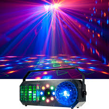 ADJ American DJ Boom Box FX1 4 in 1 FX LED Light with Laser