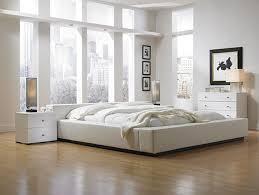 Minimalist Bedroom Elegant And Design In White Ideas Inside