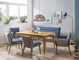 essgruppe alwin 1xl eiche rustikal bank stühle sessel gerit 2 blue