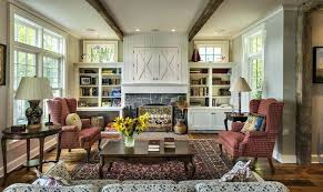 Living Room With Fireplace And Bookshelves by Fireplace Bookcase Decor Shelves Decorating Ideas Mantel Shelf