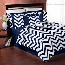 Buy Blue and White Chevron Bedding from Bed Bath & Beyond