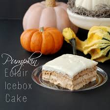 Easy Pumpkin Desserts by Pumpkin Eclair Icebox Cake Recipe Endlessly Inspired