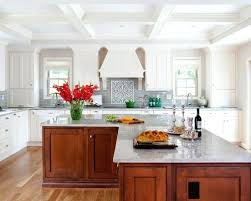 L Shaped Kitchen Island With Post