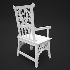 Gothic Chair 3D | CGTrader Gothic Revival Oak Glastonbury Chair Sale Number 2663b Lot Antique Carved Walnut Throne Arm Bucks County Estate Truly Stunning Medieval Italian Stylethrone Scissor X Large Victorian A Pair Of Adjustable Recling Oak Library Chairs Wick Tracery Cathedral My Parlor Room Purple Reproduction Shop Pair Jacobean Style Armchairs In Streatham Charcoal Gray Painted Rocking By Just The Woods Wicker Seat Side At
