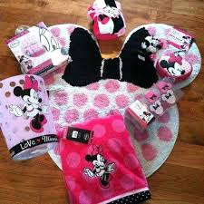 Mickey Mouse Bathroom Decor Kmart by Very Minnie Mouse Bathroom Set U2013 Elpro Me