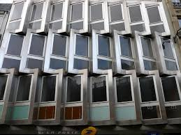 douai bureaux services bureau de poste rue de douai 9 ème 1975 structurae