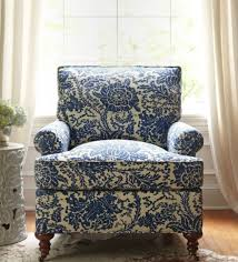 blue and white accent chair coredesign interiors