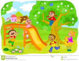 Playing On Playground Clipart Free