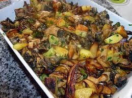 cuisiner des pommes de terre nouvelles recette de fricassée de cèpes escargots et pommes de terre nouvelles