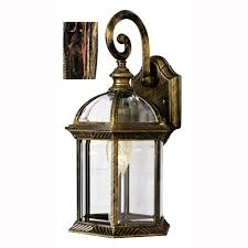 bel air lighting wentworth 1 light black copper outdoor wall mount