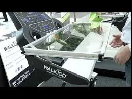 Surfshelf Treadmill Desk Canada by Walk Top Youtube