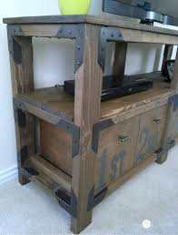 Rustic Media Console Archives