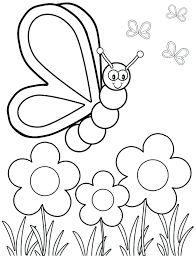 Spring Coloring Page Worksheets Welcome Pages Printable Baby Animal And For Kids Seasons Throughout Free Preschoolers