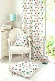 Owl Kitchen Curtains Walmart by Girls Owl Curtains Bedroom Owl Shower Curtain Blackout Bedroom