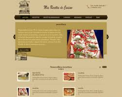 cuisine cooking website template site cuisine site cuisine