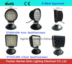 China E-MARK E9 LED Driving Work Lamp For Trucks Photos & Pictures ... Turbosii Pair 7 Inch Led Light Bar Off Road Driving Fog Lights Super 10w Roundsquare Spotflood Beam Led Work For Car Motorcycle Land Rover Defender Offroad Truck 4x4 27w Round Spot Lightfox 20 Inch 126w Cree 4wd Flood 4 54w Flood Dc 1030v 172056 Lamp 2 Cree For Dicn 1 5in 45w Floodlights 45w Working 1pcs 5inch 18w Pod 2pcs 27w Tractor Boat