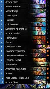Hearthstone Malygos Deck Priest by Forsen Decks Archives Hs Decks And Guides