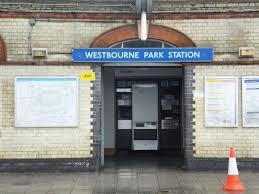 100 The Oak Westbourne Grove Park Underground Station Great Western Road London UK