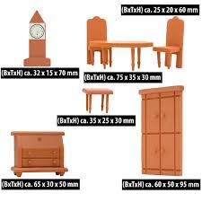 puppenhaus möbel set wohnzimmer puppenmöbel holz puppen