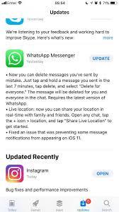 iOS 11 Whatsapp notification message load delay fix