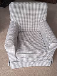 IKEA Ektorp Jennylund Fabric Armchair In Grey Gingham Plus Spare ... Amazoncom Kfine Youth Upholstered Club Chair With Storage Best 25 Bedroom Armchair Ideas On Pinterest Armchair Fireside Chic A Classic Wingback Chair A Generous Dose Of Gingham And Ottoman Ebth Pink Smarthomeideaswin Armchairs Traditional Modern Ikea Fantasy Fniture Roundy Rocking Brown Toysrus Idbury In Ol Check Wesleybarrell Chairs For Boys For Cherubs Wonderfully Upholstered Black White Buffalo Check