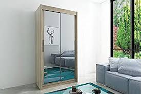 wenge kryspol schwebetürenschrank tokyo 3 100 cm mit spiegel