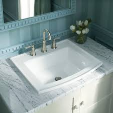 Drop In Bathroom Sink With Granite Countertop by Bathroom Sink Awesome Gray Wall Paint Washbasin Stainless Steel