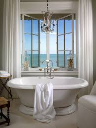 Sea Glass Bathroom Accessories by 20 Luxurious Bathrooms With A Scenic View Of The Ocean