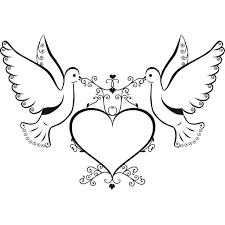 Clipart Dove Free Wedding