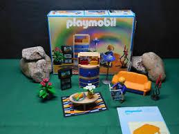 details zu playmobil modernes wohnzimmer 3966 a 2000 mit orig ba und ovp