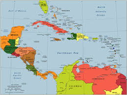 Capitals Of The Caribbean Islands Maps Central America And